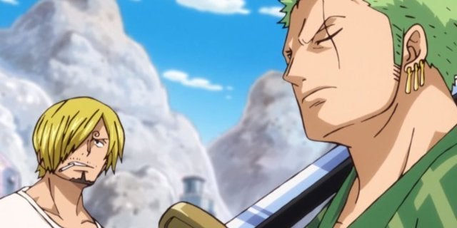One Piece Preview Teases Zoro Sanji Fight