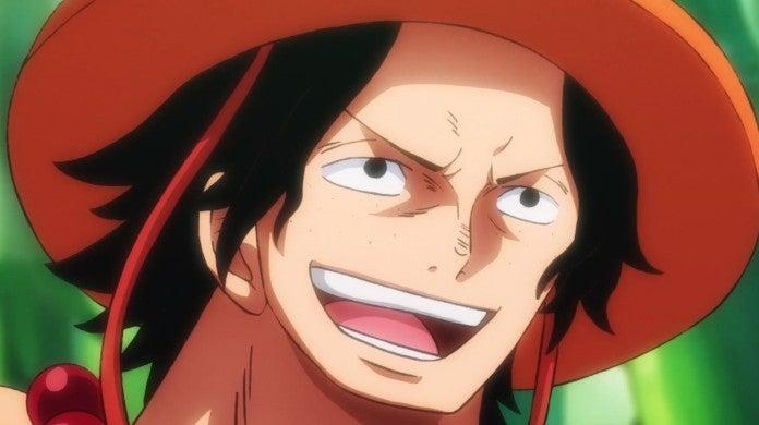 One Piece Ace Wano Anime