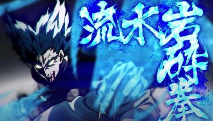 One Punch Man Garou