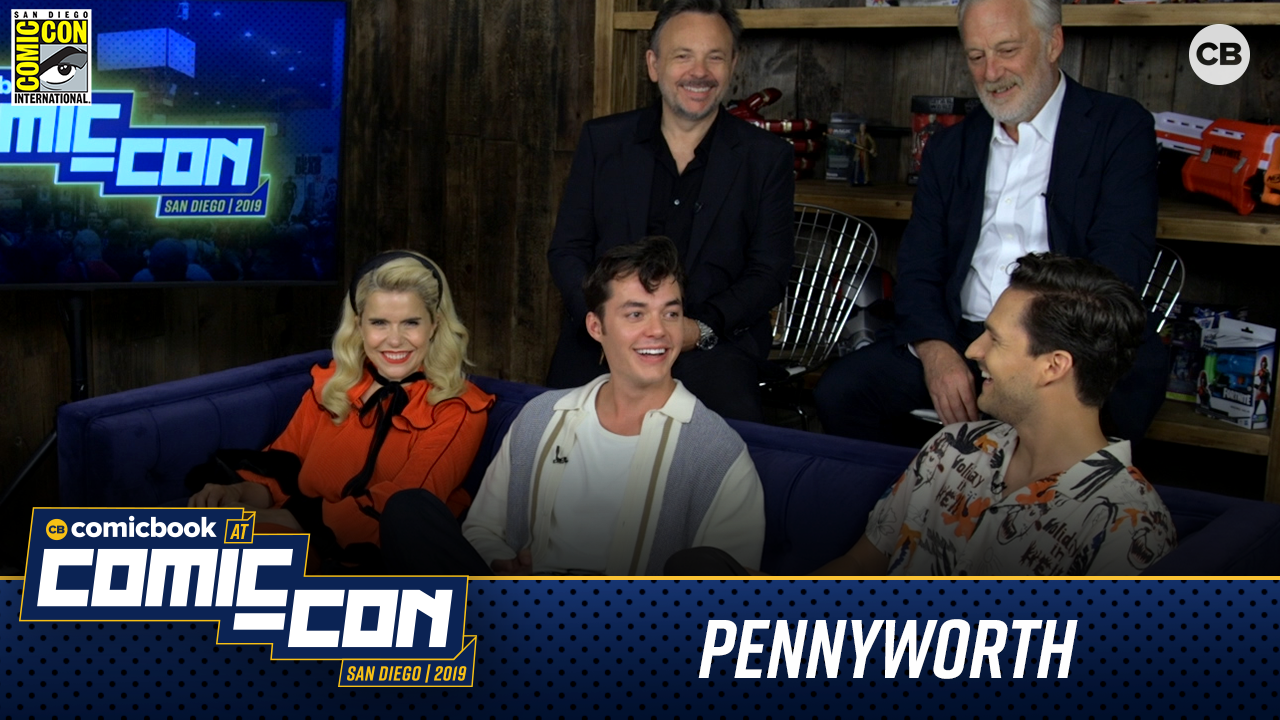 Pennyworth Cast - San Diego Comic-Con 2019 Interview screen capture