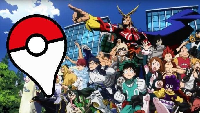 pokemon go my hero academia