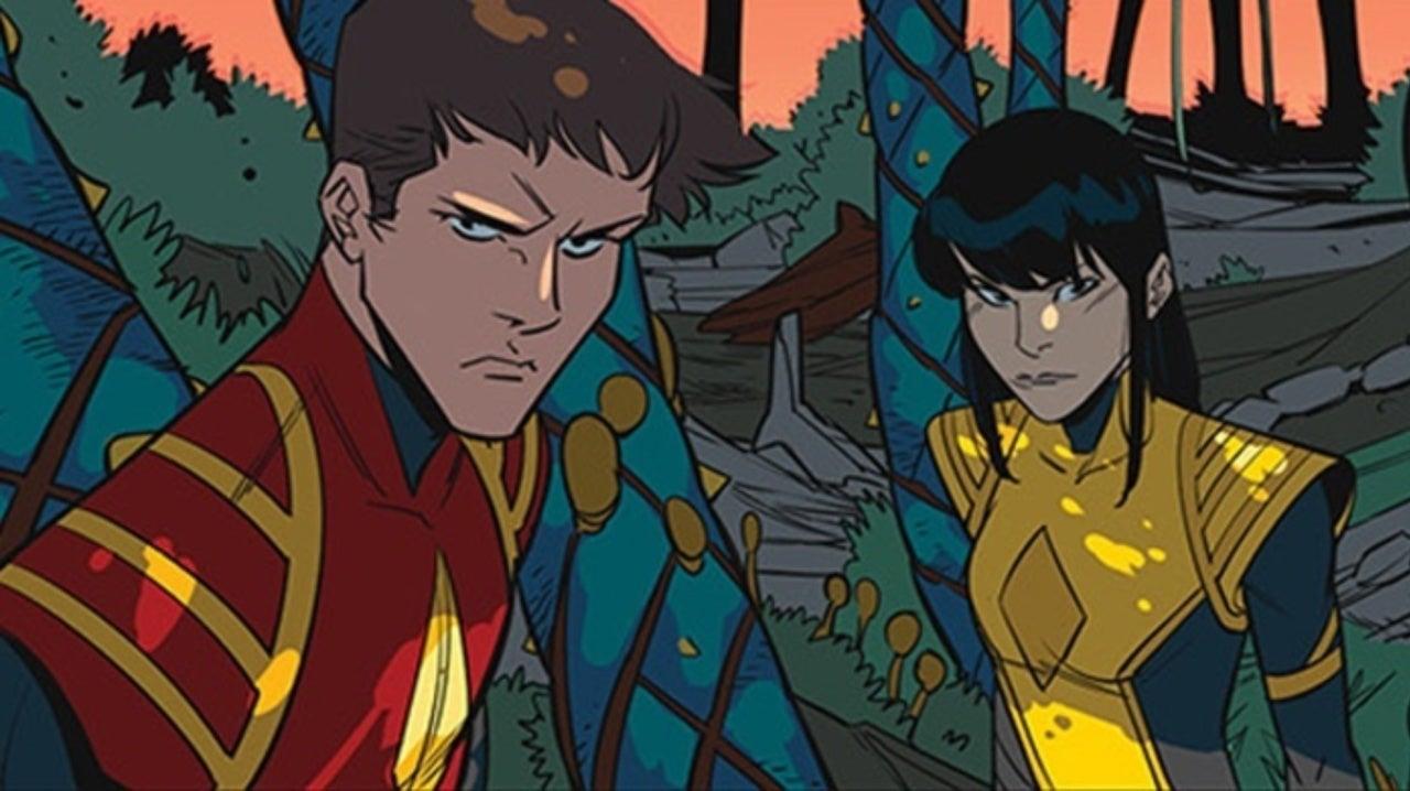 Mighty Morphin Power Rangers Reveals a New Ranger
