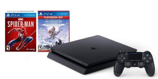 Prime Day: PlayStation 4 Slim Bundle With Spider-Man and Horizon Zero Dawn for $250