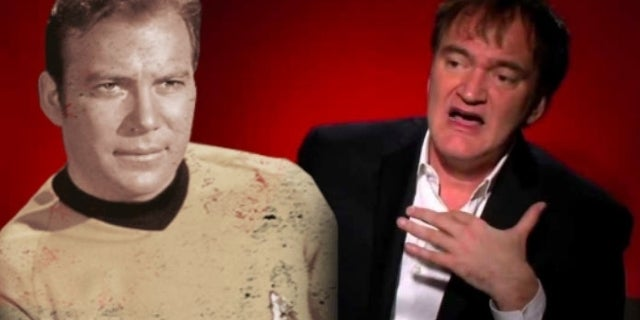 Quentin Tarantino Likes Star Trek More Than Star Wars Because William Shatner's in It