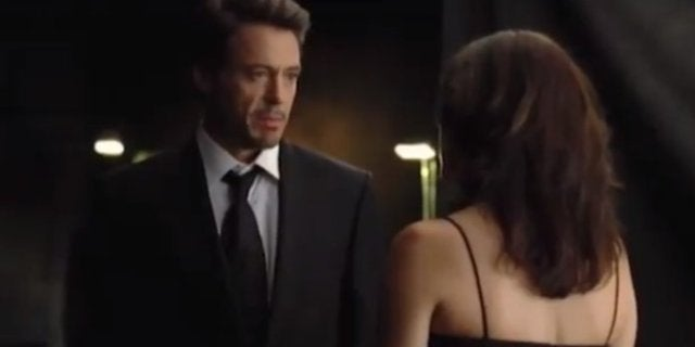 Robert Downey Jr Iron Man Screentest