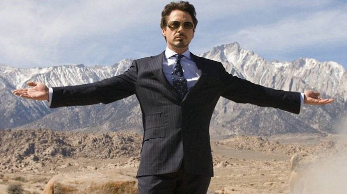 robert downey jr tony stark iron man