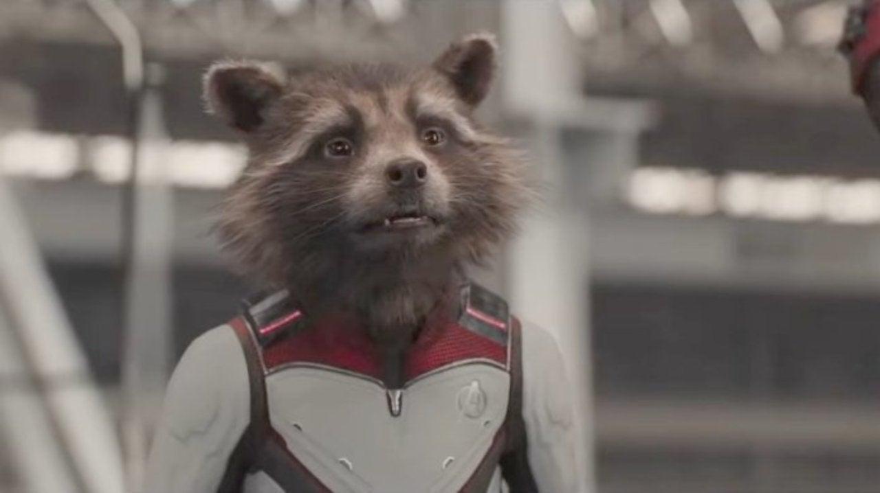 Avengers: Endgame - Sean Gunn Standing in for Rocket Is Funnier Than You'd Think