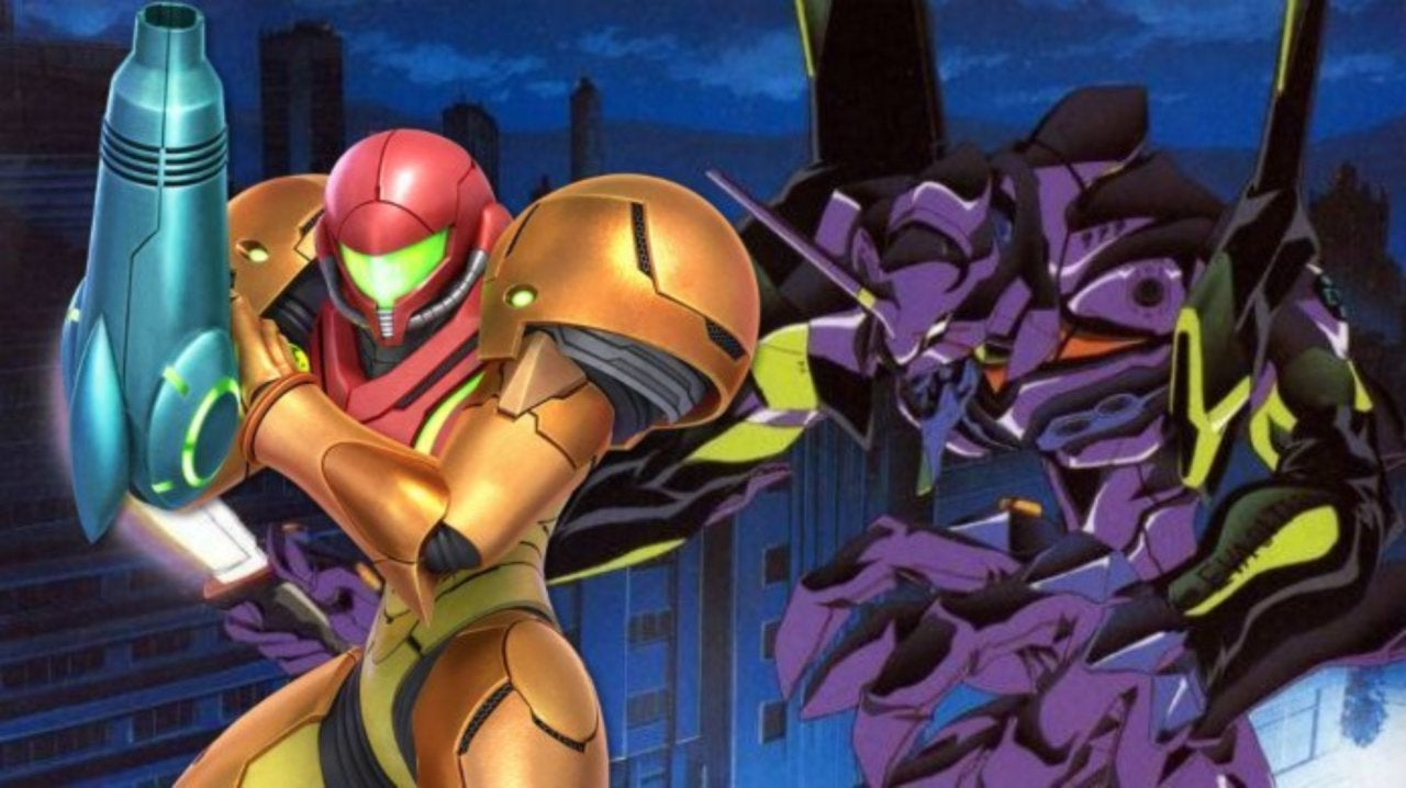 Metroid Prime Meets Neon Genesis Evangelion in this Stunning Crossover