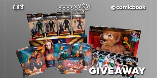 Toy box collectibles giveaway