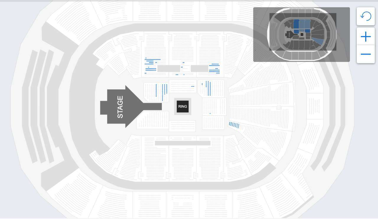 SummerSlam Available Seats As Of July 19th, 2019