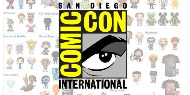 Here's Where to Get Funko's SDCC 2019 Exclusive Pop Figures Starting