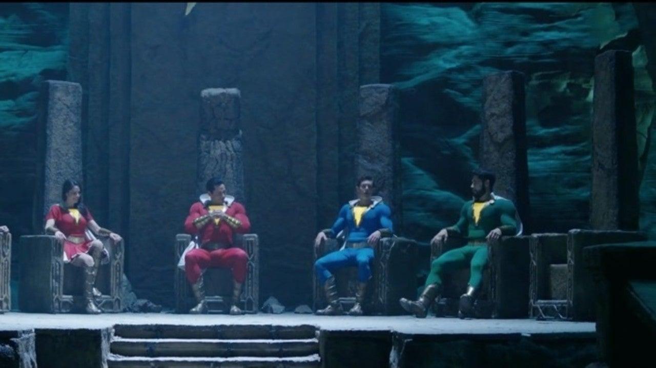Shazam! Deleted Scene Teases Black Adam