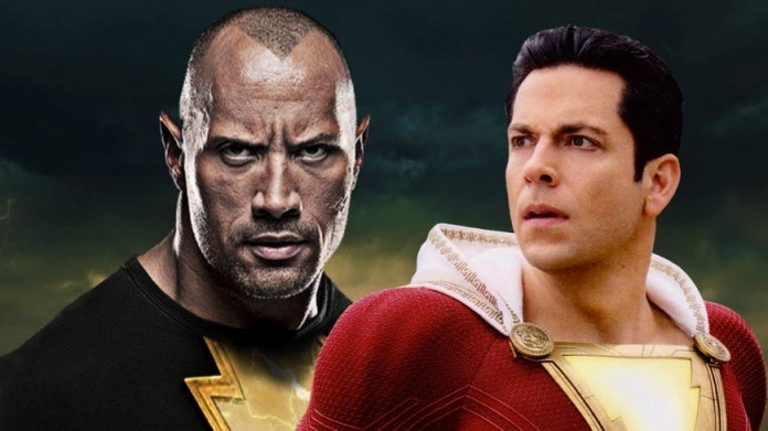Shazam Black Adam Zachary Levi Dwayne Johnson comicbookcom