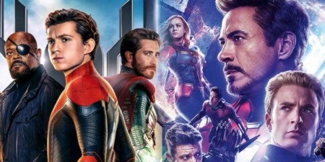 Spider-Man Far From Home Avengers Endgame comicbookcom
