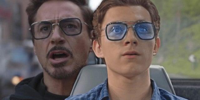 Spider-Man Far From Home Avengers Tony Stark glasses comicbookcom