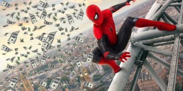 Spider-Man Far From Home Breaks Tuesday Box Office Record