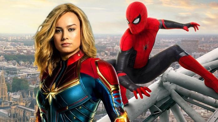 spider man far from home captain marvel