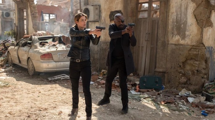 Spider-Man Far From Home Maria Hill Nick Fury
