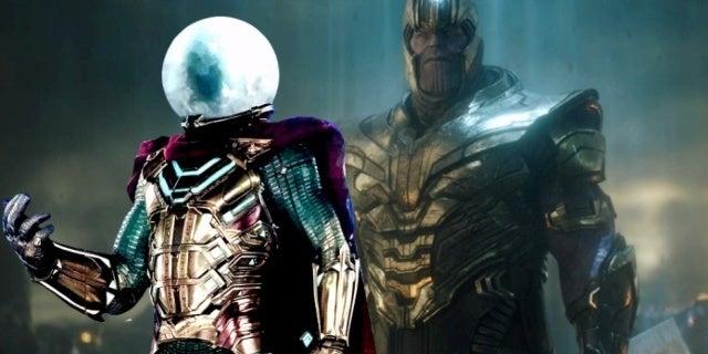Spider-Man Far From Home Mysterio Avengers Endgame Thanos comicbookcom