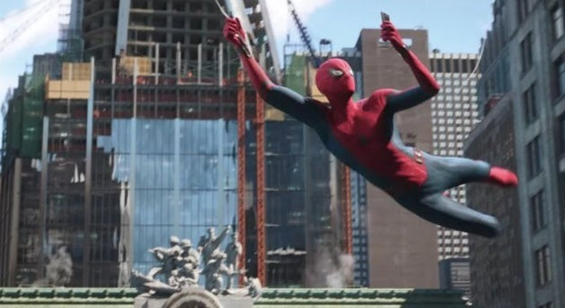 spider-man far from home nyc