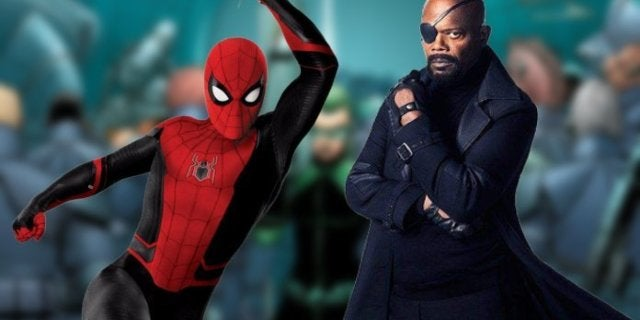 Spider-Man Far From Home Post Credits Scene Nick Fury SWORD Secret Invasion