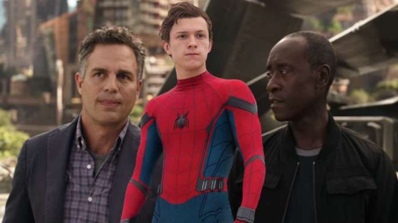 Avengers: Endgame Star Mark Ruffalo Shares Perplexing Photo With Tom Holland and Don Cheadle