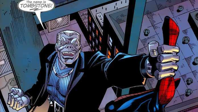 Spider-Man Villains for MCU - Tombstone