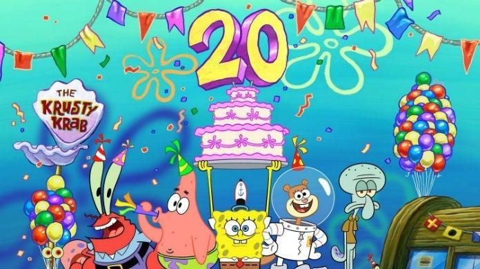 spongebob 20 hed