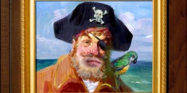spongebob pirate creator cameo