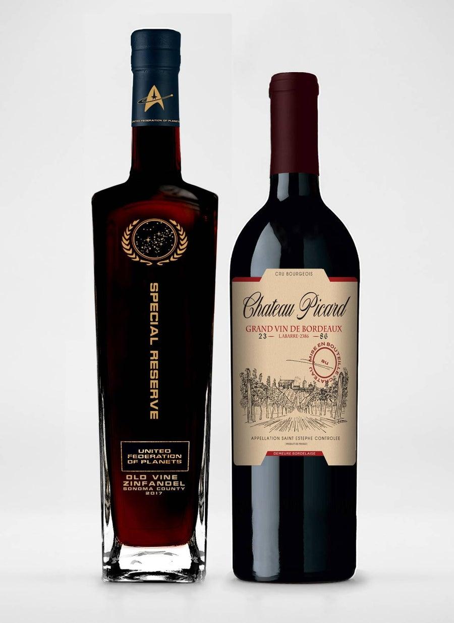 star_trek_federation_Chateau_Pichard Bottles