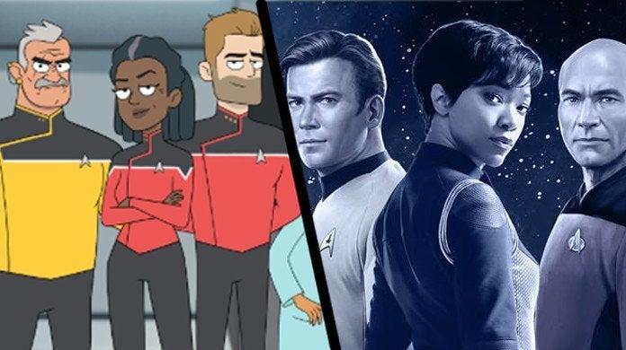 Star Trek Lower Decks Canon