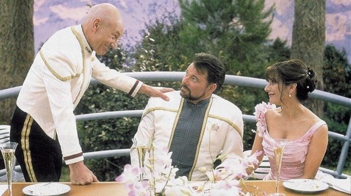 Star Trek Riker Troi Wedding