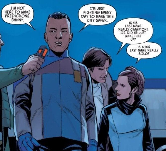 star wars marvel comics han solo last name