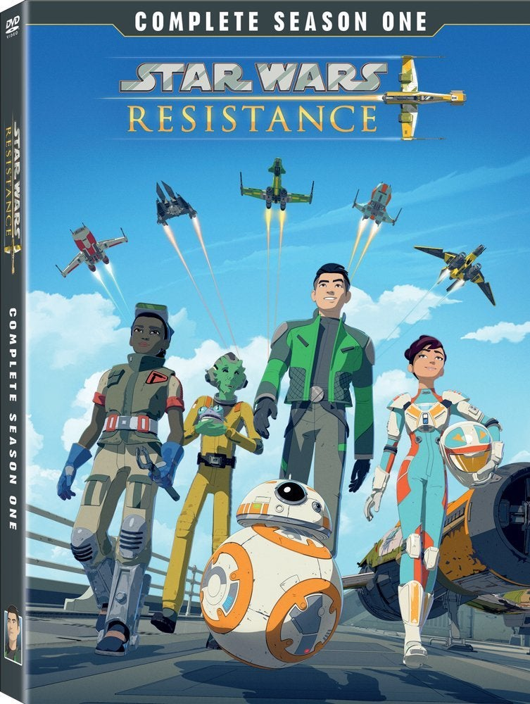 star wars resistance season one dvd cover