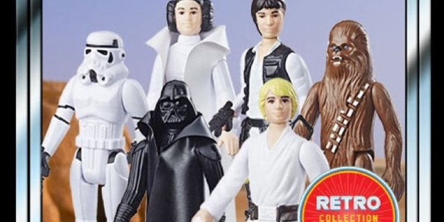 The Star Wars Kenner Retro Action Figure Collection is Back