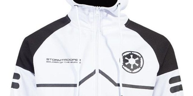 This Star Wars Stormtrooper Tech Hoodie is Your Destiny
