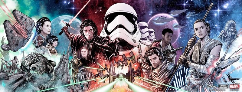 star wars the rise of skywalker allegiance comic covers
