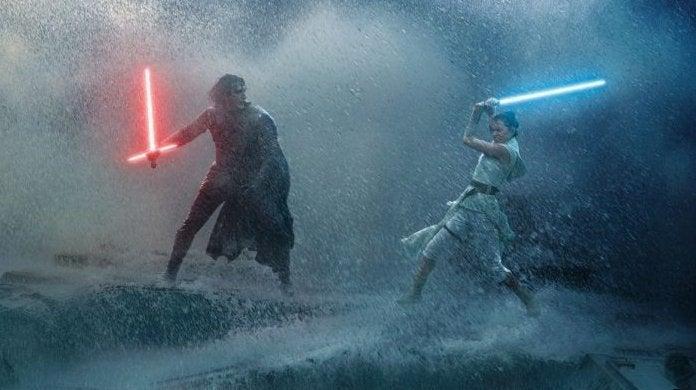 star wars the rise of skywalker rey kylo ren duel