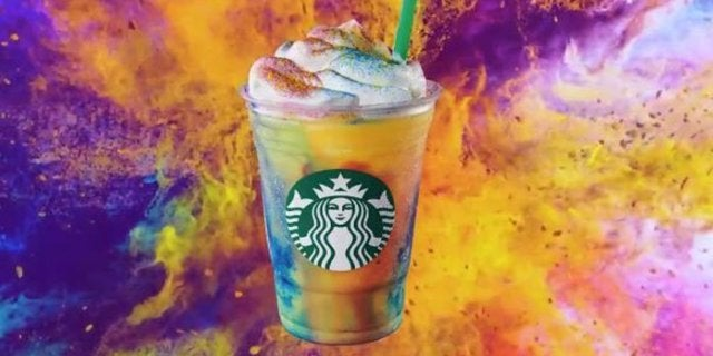 Starbucks Launches New Tie-Dye Frappuccino for a Limited Time