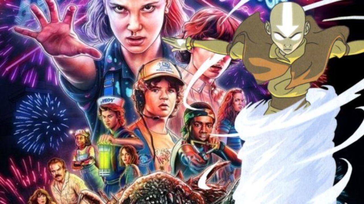 Stranger Things Cast Sings Praises of Avatar: The Last Airbender
