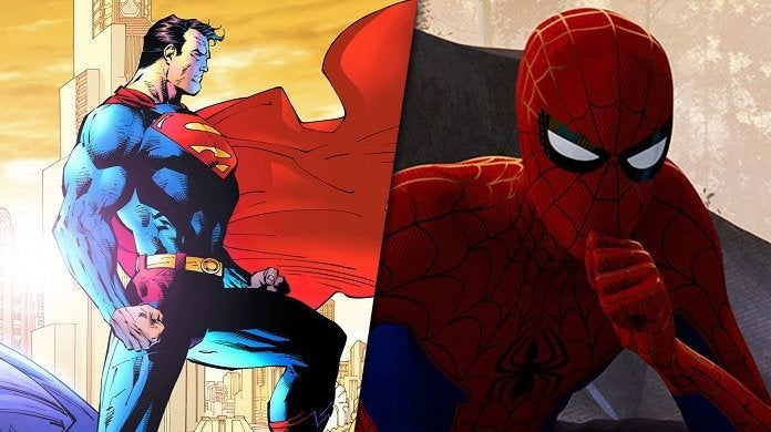 superman spider-man confusion