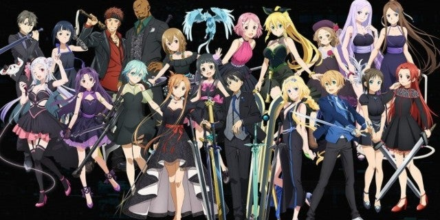 Sword Art Online's Special 10th Anniversary Exhibit Shares Poster
