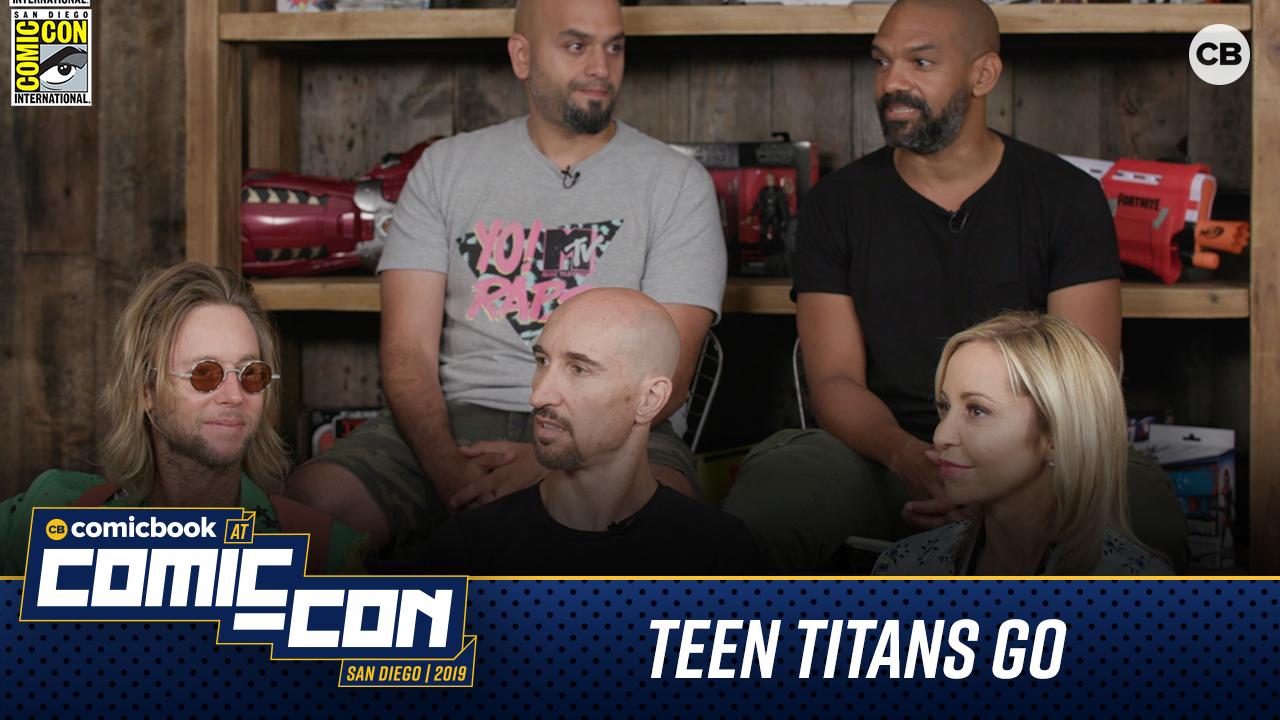 Teen Titans Go! - San Diego Comic-Con 2019 Interview screen capture