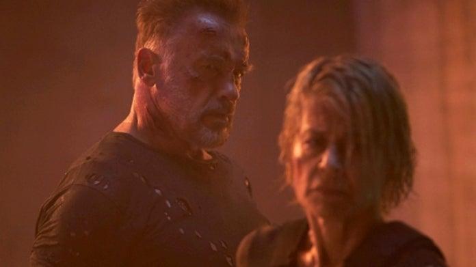 Terminator Dark Fate Schwarzenegger Hamilton