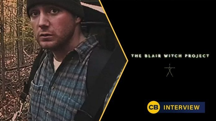 the blair witch project michael c williams anniversary interview