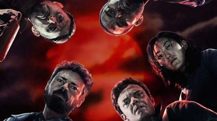 The Boys Amazon - Cover Cast