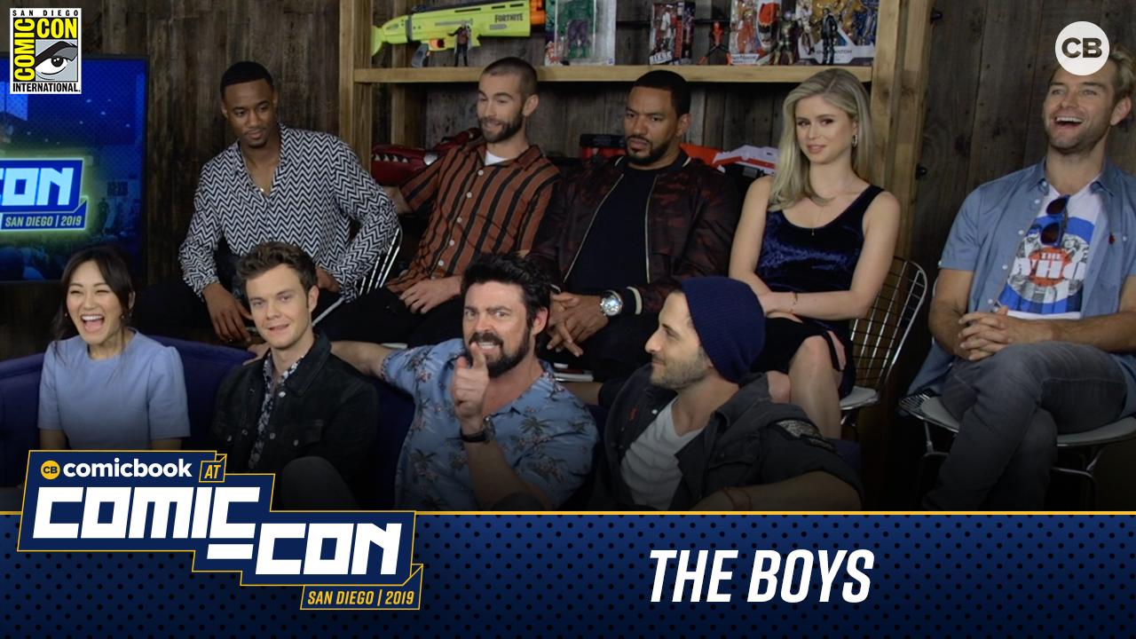 The Boys - San Diego Comic-Con 2019 screen capture