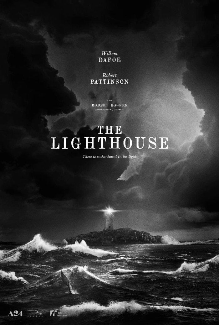 the lighthouse movie poster robert pattinson