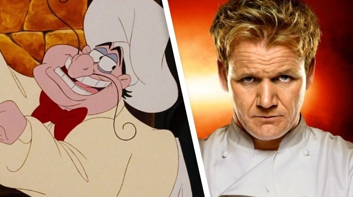 the little mermaid gordon ramsay chef louis
