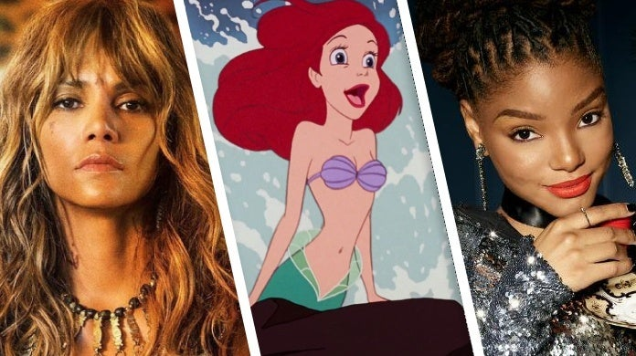 the little mermaid halle bailey halle berry